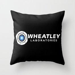 Wheatley Laboratories Throw Pillow