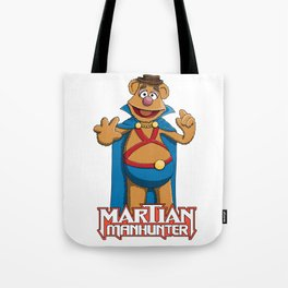 Fozzie Bear the Martian Manhunter Tote Bag