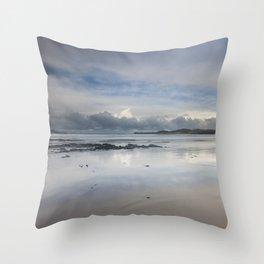 Balnakiel Beach Throw Pillow