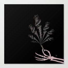 Smokin Sativa Canvas Print