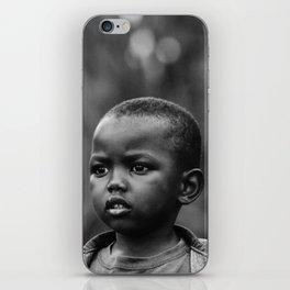 Child in Rwanda iPhone Skin