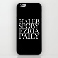 ships iPhone & iPod Skins featuring PLL SHIPS by Sara Eshak