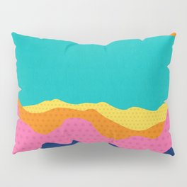 Over The Sunset Mountains III Pillow Sham