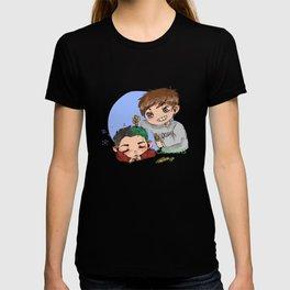 green hair dont care T-shirt
