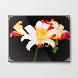 Song Of The Lilies Metal Print