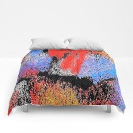 multi blue pp3 Comforters