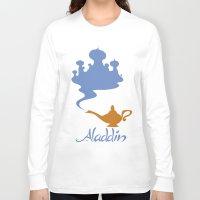 aladdin Long Sleeve T-shirts featuring Aladdin by Citron Vert