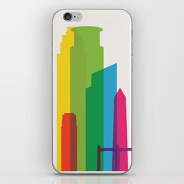 Shapes of Minneapolis iPhone Skin