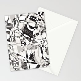 A line is a dot that went for a walk' Stationery Cards