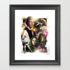 Star Wars Framed Art Print