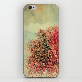 In our hearts there's always spring iPhone Skin