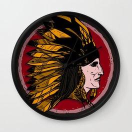 Tribal Pride Wall Clock