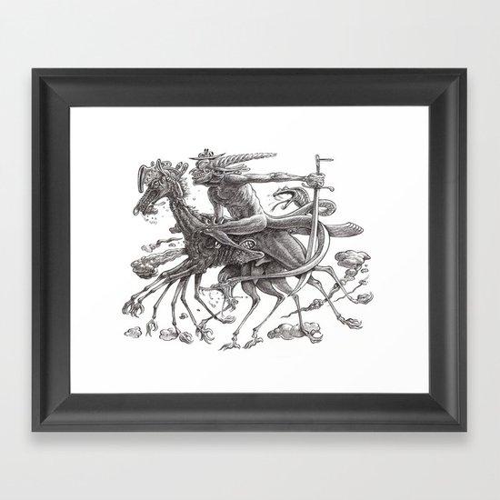 Great Duke Bathin Framed Art Print