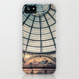 Faded Memories: Galleria Vittorio Emmanuel II, Milan iPhone Case