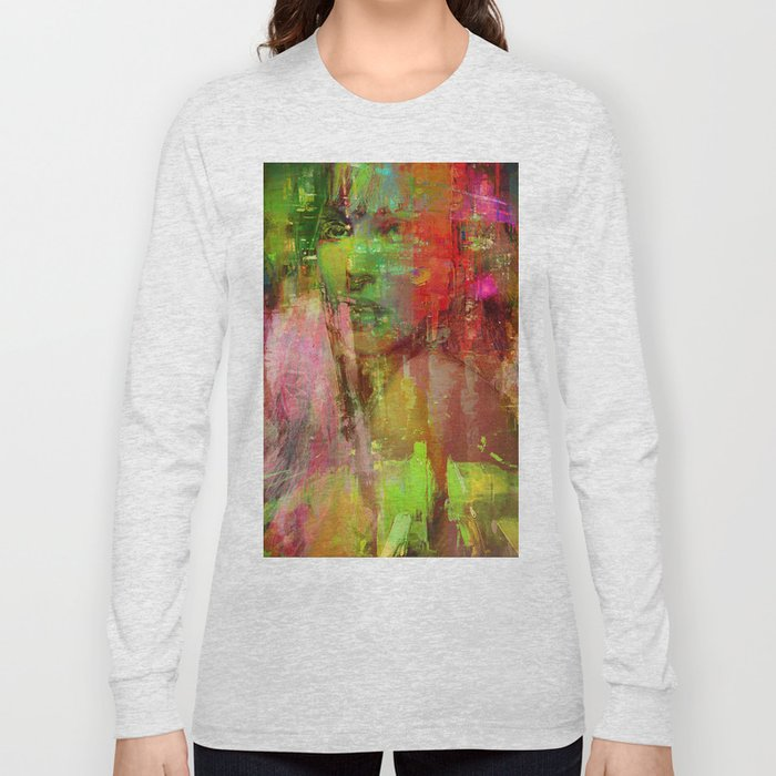 The girl of the road 77 Long Sleeve T-shirt