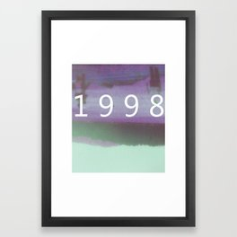 1998 Framed Art Print