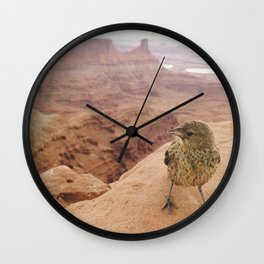 Desert Bird Wall Clock