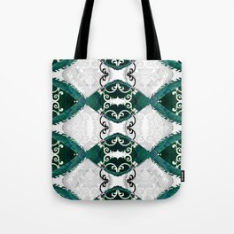 Resonant Jade Chamber of the Mind Tote Bag