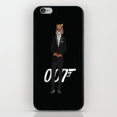 Tiger Bond iPhone & iPod Skin
