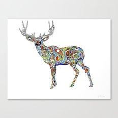 Third Eye Deer Canvas Print