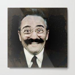 Movember  Metal Print