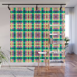 Warm color Squares background - DDE591 Wall Mural