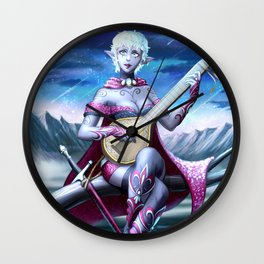 Dark Elf Wall Clock