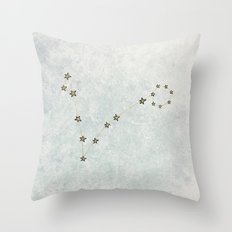 Pisces x Astrology x Zodiac Throw Pillow