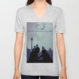 The City of Light Unisex V-Neck