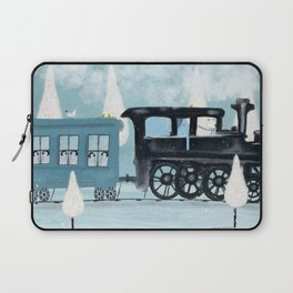 the arctic express Laptop Sleeve