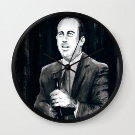 DARK COMEDIANS: Jerry Seinfeld Wall Clock