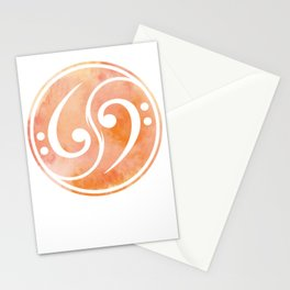 Bass Clef Gift Musician Stationery Cards