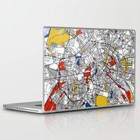 berlin Laptop & iPad Skins featuring Berlin  by Mondrian Maps