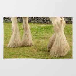 Feathered Feet Rug