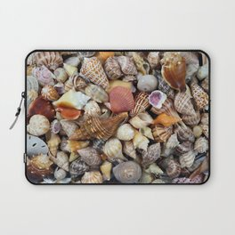 Seashell Collection from Florida Laptop Sleeve