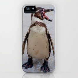I KEEP TELLING U - PENGUINS R COOL iPhone Case