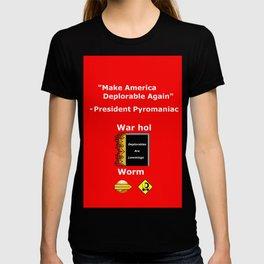 """Make America Deplorable Again"" campaign slogan T-shirt"