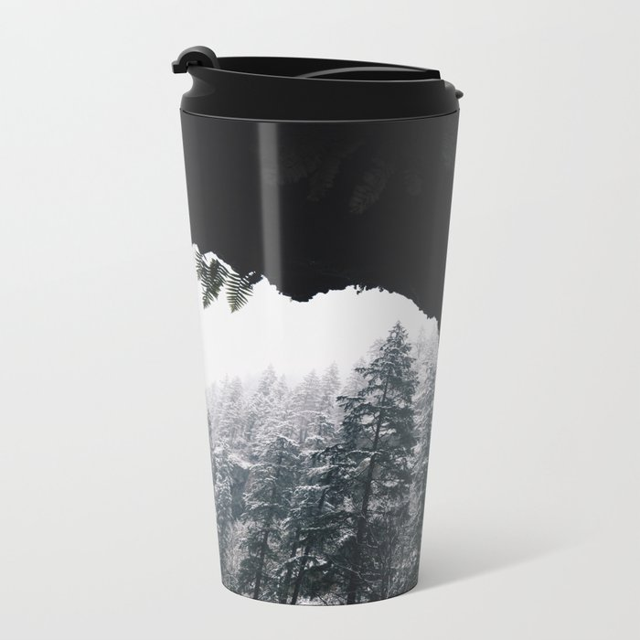 Winter VI Metal Travel Mug