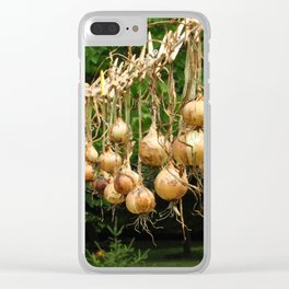Onion Line Clear iPhone Case