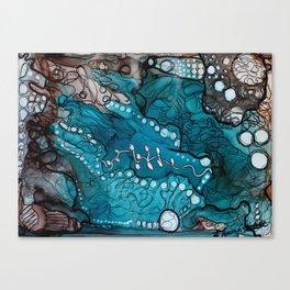 Jupiter Lineage Ink Botanical Canvas Print