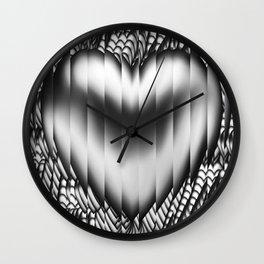 Broken heart Wall Clock