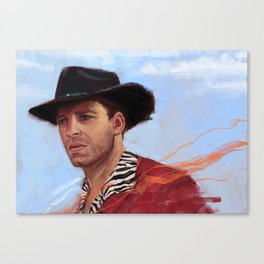 Sebastian Woody Stan Canvas Print
