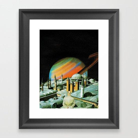 The religion  Framed Art Print
