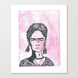 Unnamed Grandmother 3 Canvas Print