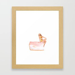 Hickory Smoked Framed Art Print