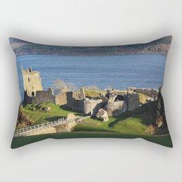 Urquhart Castle - Scotland Rectangular Pillow