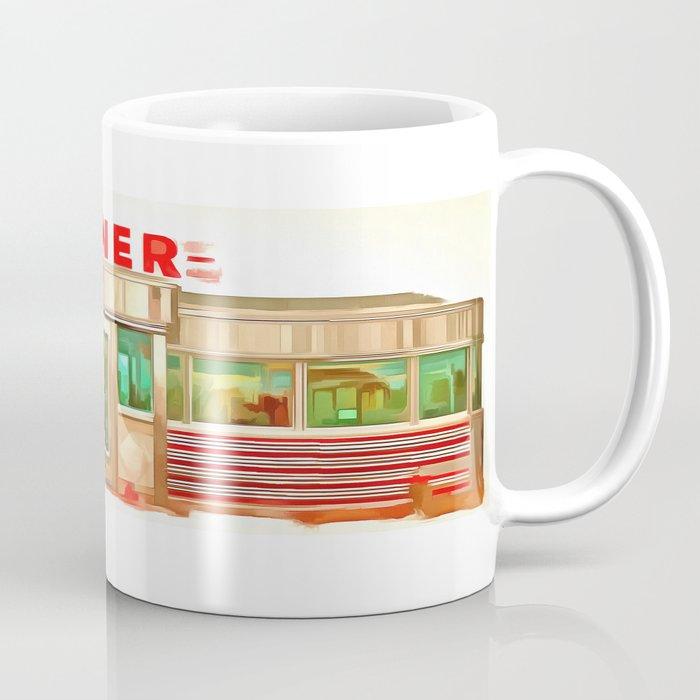 Classic American Diner Coffee Mug