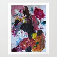 Pony Show Art Print