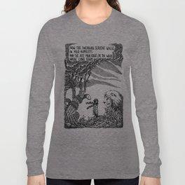 William Blake Illustration Long Sleeve T-shirt