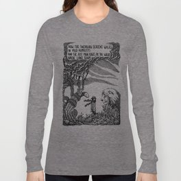 William Blake Illustration Long Sleeve T-shirt